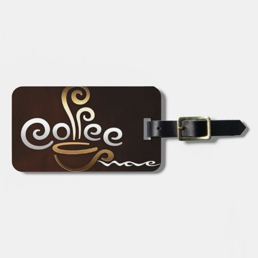 Café Etiqueta Para Equipaje