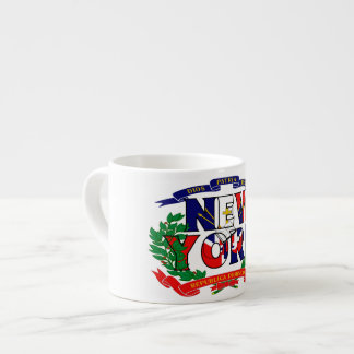 Café express de Nueva York - República Dominicana Taza De Espresso