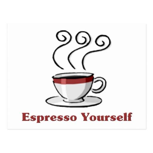 Café express usted mismo postal
