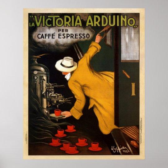 Cafe Express Vintage Poster Zazzle Com
