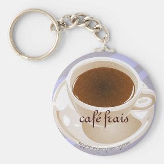Café frais keychain