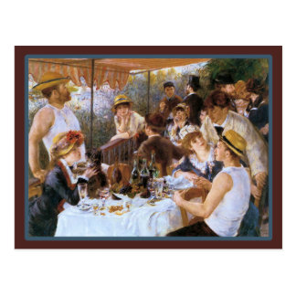 Café francés de la barra del vintage postales