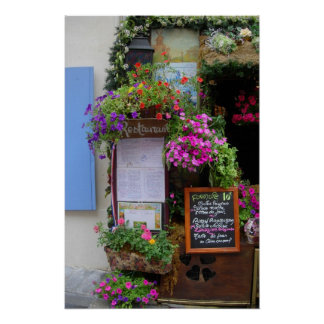 Café francés impresiones
