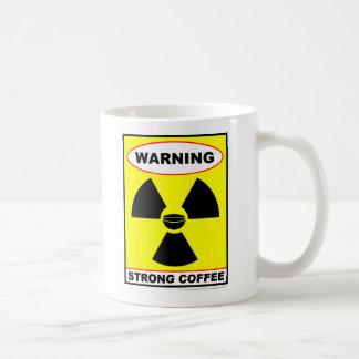 Café fuerte taza básica blanca