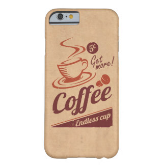 Café Funda Barely There iPhone 6