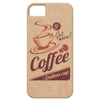 Café Funda Para iPhone SE/5/5s