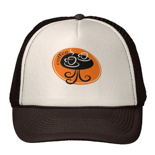 café gorras de camionero