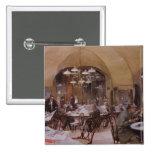 Cafe Griensteidl, Vienna, 1890 2 Inch Square Button