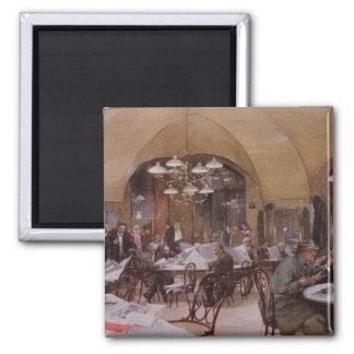Cafe Griensteidl, Vienna, 1890 Magnet
