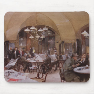 Cafe Griensteidl, Vienna, 1890 Mouse Pad