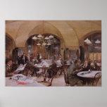 Cafe Griensteidl, Vienna, 1890 Poster