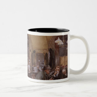 Cafe Griensteidl, Vienna, 1890 Two-Tone Coffee Mug