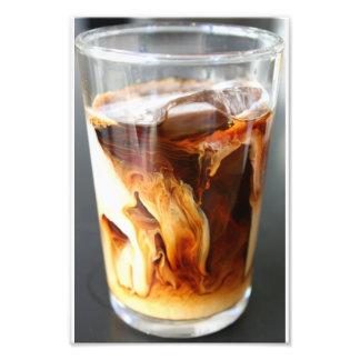 "café helado -"" impresión 8x12 fotografías"