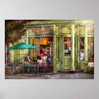 Café - Hoboken, NJ - café del imperio y té Póster