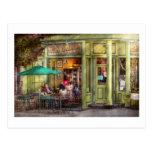 Café - Hoboken, NJ - café del imperio y té Tarjeta Postal