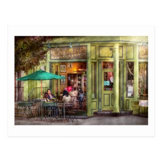 Café - Hoboken NJ - café del imperio y té Tarjeta Postal