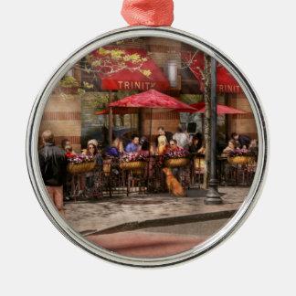 Cafe - Hoboken, NJ - Cafe Trinity Christmas Tree Ornaments