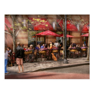 Cafe - Hoboken, NJ - Cafe Trinity Postcard