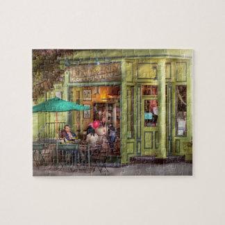 Cafe - Hoboken, NJ - Empire Coffee & Tea Jigsaw Puzzle