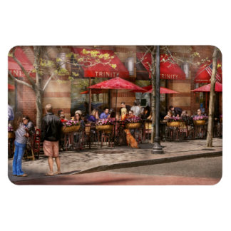 Café - Hoboken, NJ - trinidad del café Imanes De Vinilo