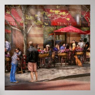 Café - Hoboken, NJ - trinidad del café Poster