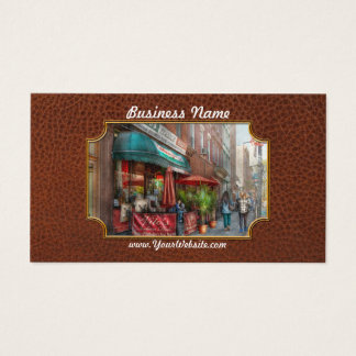 Cafe - Hoboken, NJ - Vito's Italian Deli Business Card