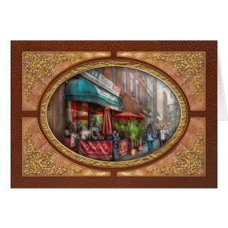 Cafe - Hoboken, NJ - Vito's Italian Deli Greeting Card