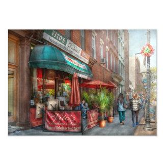 Cafe - Hoboken, NJ - Vito's Italian Deli Card