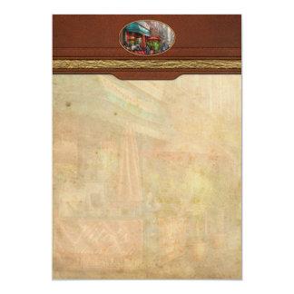 Cafe - Hoboken, NJ - Vito's Italian Deli 5x7 Paper Invitation Card