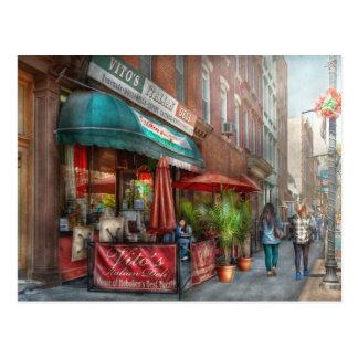 Cafe - Hoboken, NJ - Vito's Italian Deli Postcard