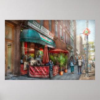 Cafe - Hoboken, NJ - Vito's Italian Deli Poster