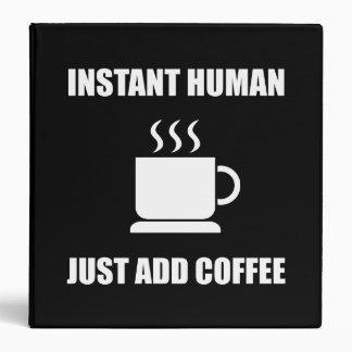 """Café humano inmediato carpeta 1 1/2"""""""