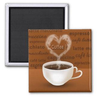 ¿Café? - Imán