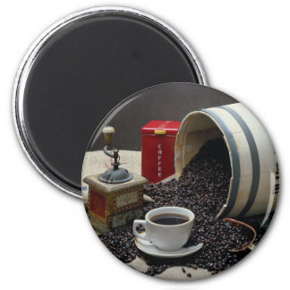 Café Imán Para Frigorifico