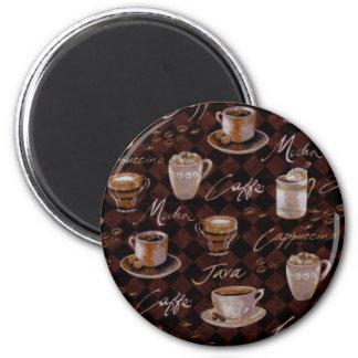 Café Imán Redondo 5 Cm