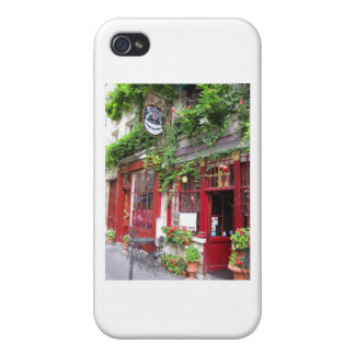 Cafe in Paris iPhone 4 Covers