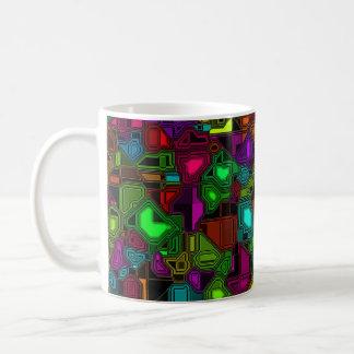 Café intenso del color taza