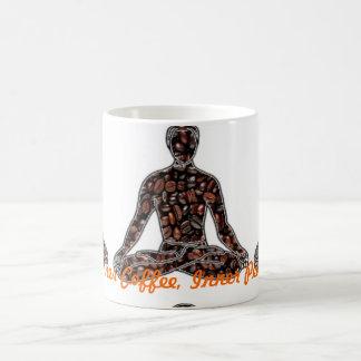 Café interno, paz interna taza