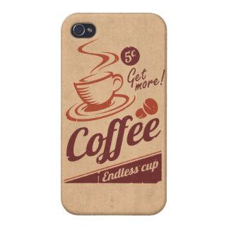 Café iPhone 4/4S Funda