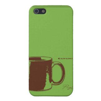 CAFÉ iPhone 5 FUNDAS