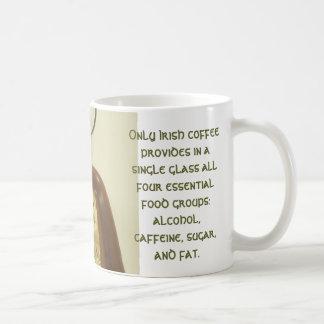 Café irlandés tazas de café