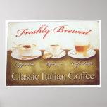 Café italiano posters