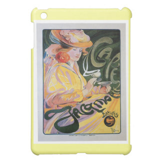 Cafe Jacamo Vintage Coffee Drink Ad Art Case For The iPad Mini