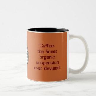 café: la suspensión orgánica más fina ideada nunca taza dos tonos