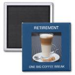 Cafe Latte 2 Inch Square Magnet