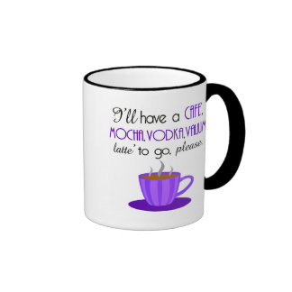 Cafe Latte Coffee Mugs