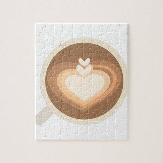 Cafe Latte Jigsaw Puzzle