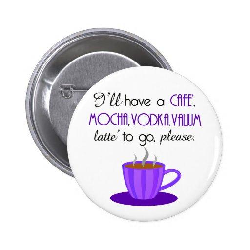 Café Latte Pin