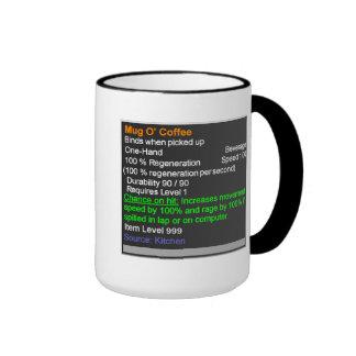 Café legendario de O de la taza