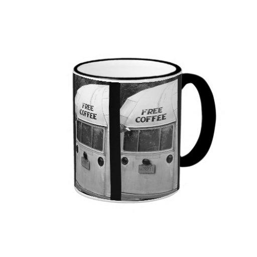 Café libre taza de dos colores